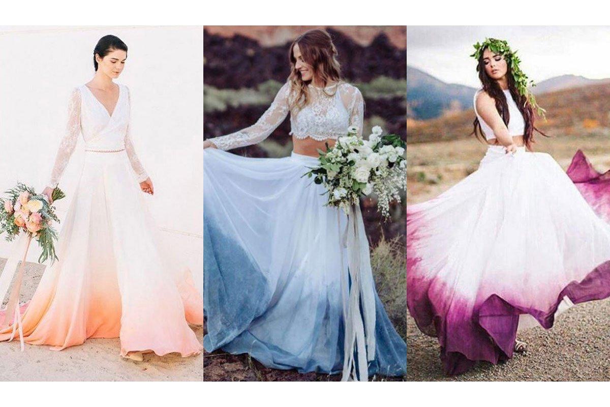 abito da sposa colori